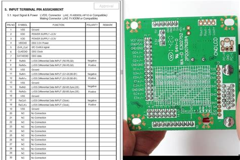 Lcd Cina Kecil 20 Pin 1 lcd lvds 30 pin cable confusion electrical engineering stack exchange