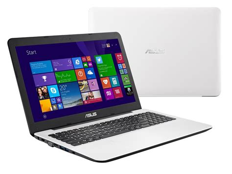 Laptop Asus I3 White asus x555la xx304h 15 6inch i3 notebook glossy white