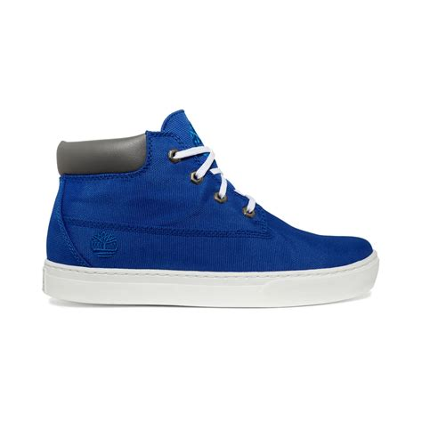 blue timberland boots timberland 20 new market chukka boots in blue for