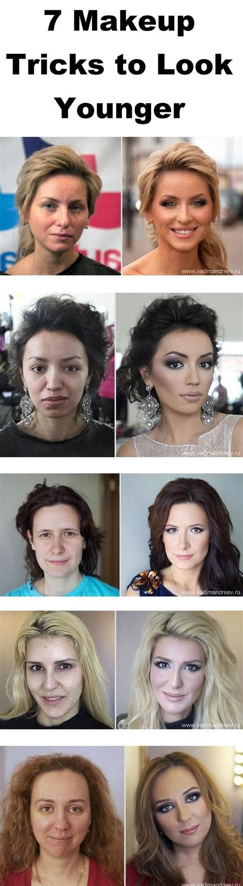 7 Easy Tricks To Look Younger by 7 Makeup Tricks To Look Younger Fashion Daily
