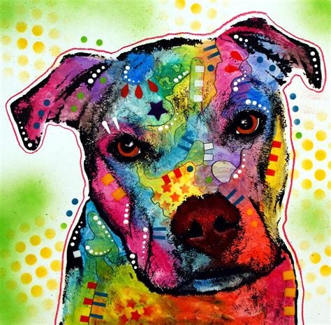 pit paint pity pitbull by dean russo