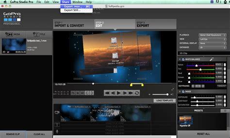 gopro studio templates gopro studio pro mac 2 0 1 247