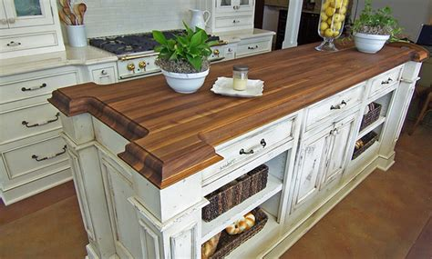 walnut kitchen island walnut wood kitchen island countertop by grothouse