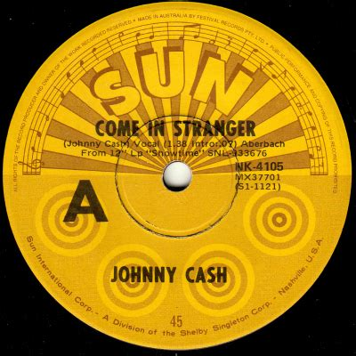 johnny cash singles discography / database