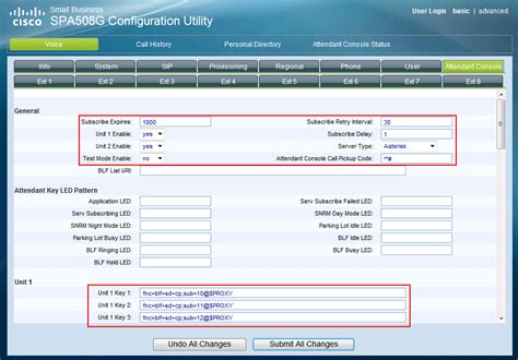 cisco console how to configure busy l field blf on cisco spa500s