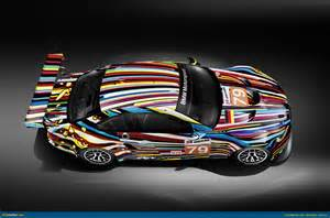 ausmotive 187 bmw car by jeff koons to race at le