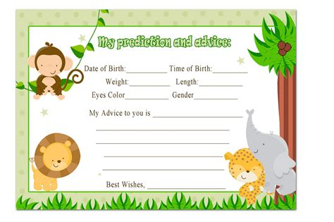 printable baby shower invitation cards templates best