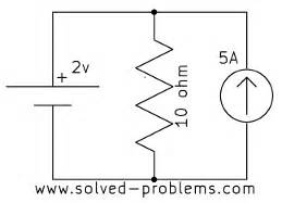 capacitor in parallel with current source problem 1 13 voltage of a current source solved problems