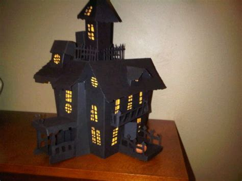 printable haunted house craft 3d paper house print out 11385d1281407722 3d haunted