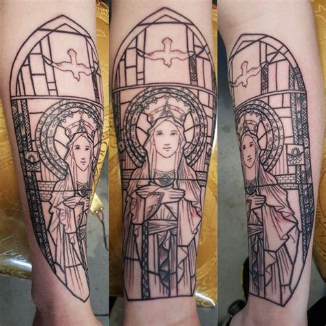 stain glass tattoo 77 striking stained glass ideas that will your