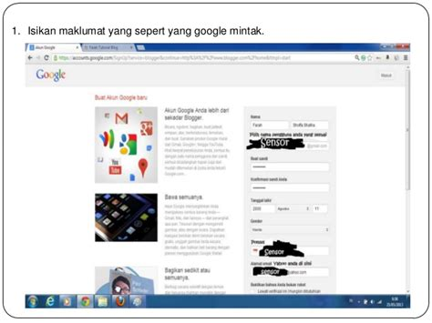 tutorial membuat blogger pdf tutorial cara membuat blog dengan blogspot