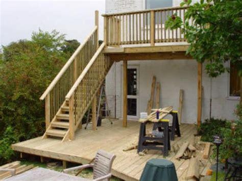 elevated deck ideas raised decking design ideas new interior exterior design