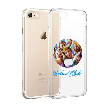 custom photo image logo transparent clear tpu soft for iphone 7 plus 6 6s ebay