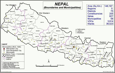 nepal on map places of nepal naturally nepal