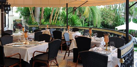The Dining Room At The Villa By Barton G Where To Eat Outside In Miami Now That Summer S Eater Miami