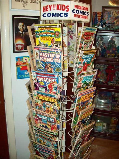 Comic Book Rack comic book rack back in the day childhood memories and