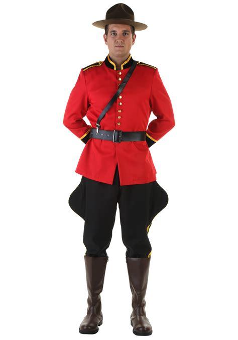 mens canadian mountie costume ebay