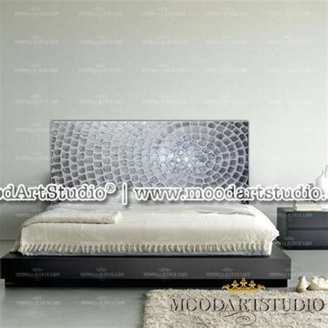 pittura in da letto testiera da letto argento con pittura in rilievo in stile