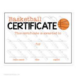 basketball c certificate template certificate celebrate basketball certificate club