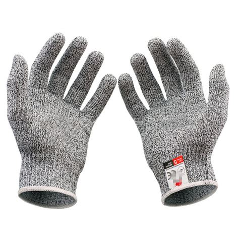 1 6 Bendable Glove cut resistant anti knife glove chain saw safty gloves level 5 protection survival gear