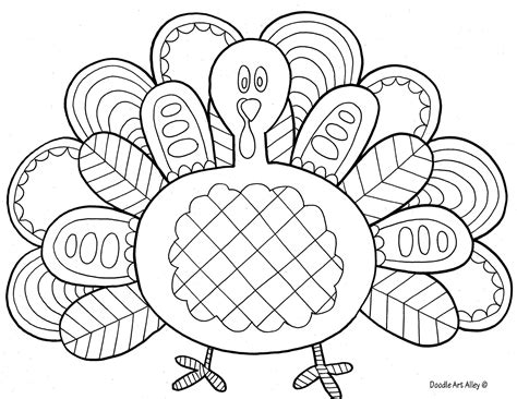 cute coloring pages of turkeys white trash mama turkey printable
