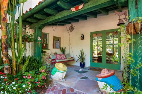 Celebrity Homes Decor actress annie potts designed this funky hacienda zillow