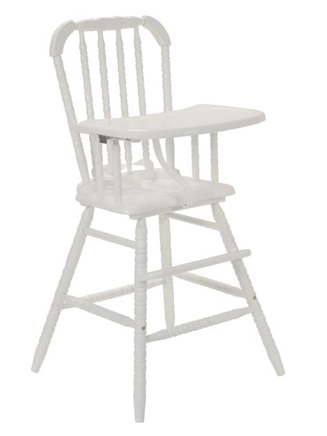 White Lind High Chair by Da Vinci Lind High Chair In White Mdb M0384w At
