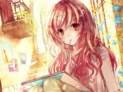 anime art anime wallpapers art painting anime cg art wallpapers
