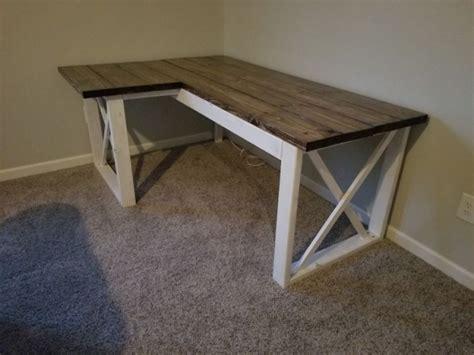 l shaped desk plans l desk plans design decoration