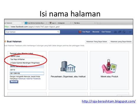 membuat facebook jualan tutorial membuat dan optimasi facebook fanpage untuk jualan