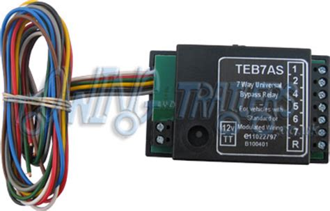 7 way smart relay for towbar wiring
