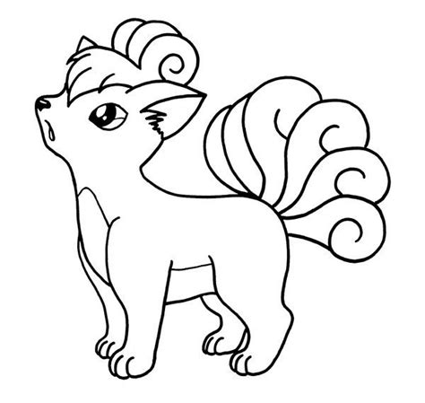 pokemon coloring pages of vulpix pinterest the world s catalog of ideas