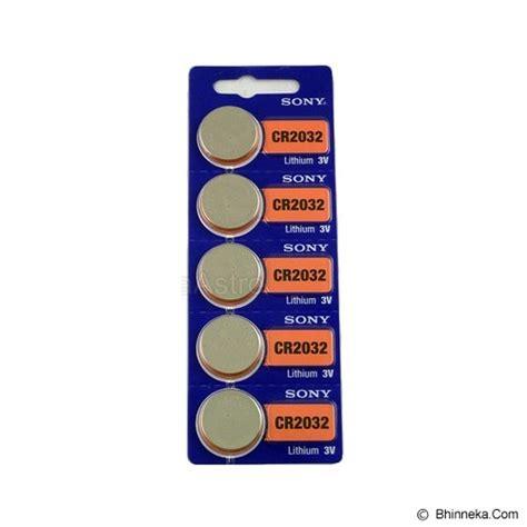 Sony Baterai Kancing Cr 2016 jual sony baterai kancing cr2032 murah bhinneka