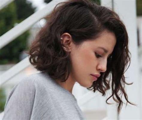 corte para cabello chino corto cortes de pelo ondulado