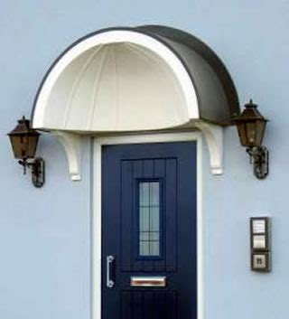 Pvc Canopy For Front Door Balmoral Arched Lead Effect Canopy Pvc Canopies Upvc
