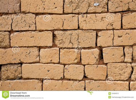 Plan Maison En U 4354 by Adobe Brick Wall Stock Photo Image 16404670