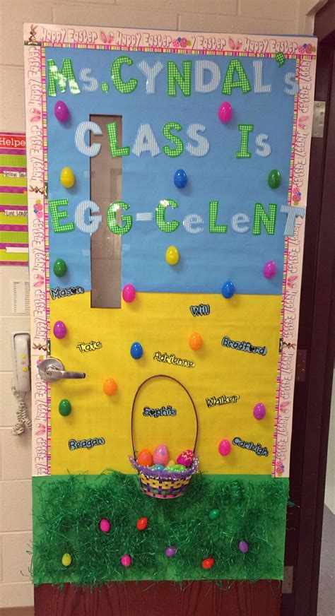 educational themes for april 51 best easter door ideas images on pinterest door ideas