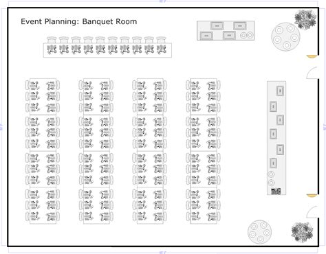 event table layout banquet planning software make plans for banquets