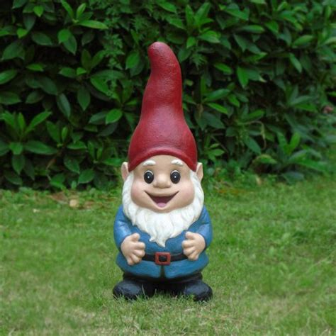 lawn gnome 22 quot large red gnome walmart com