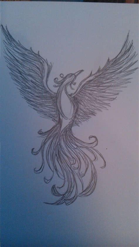 tattoo phoenix sketch pin by silvia piccin on fenice per tattoo pinterest