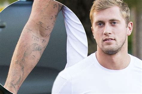 tattoo removal essex dan osborne shows off his faded tattoos as he attempts to