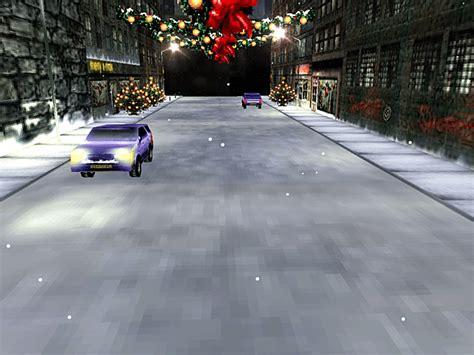 christmas   city screensaver  windows