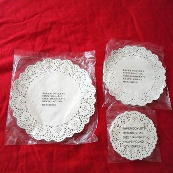 Colour Paper Doyleys 45 100pcs shop paper doilies wedding on wanelo