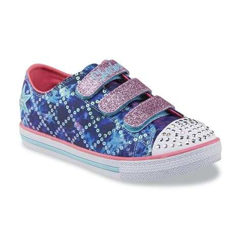 twinkle toes light up shoes skechers s twinkle toes chit dazzle days blue