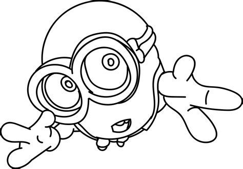 coloring pages cute minions cute minion pages coloring pages