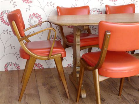 retro dining chairs by ben chairs scaramanga leather