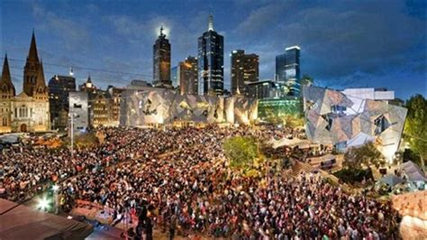 new year federation square melbourne melbourne architecture tour walking tours of melbourne
