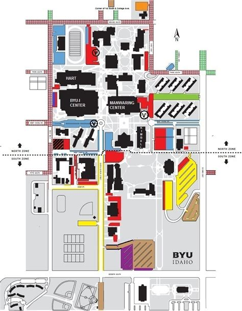 Floor Planning Online by 2012 Parking Map