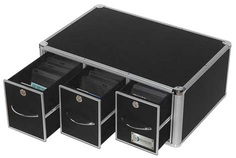 Dvd Drawer by Stackable Media 3 Drawer Cd