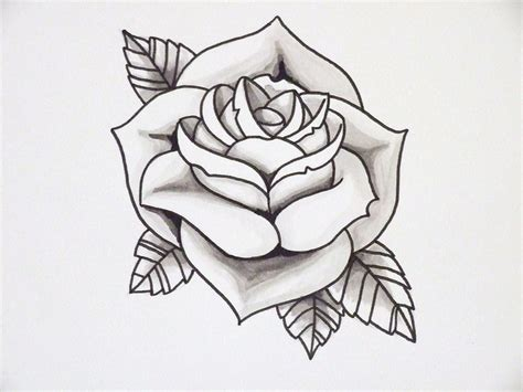 rose tattoo template tattos outline piercing